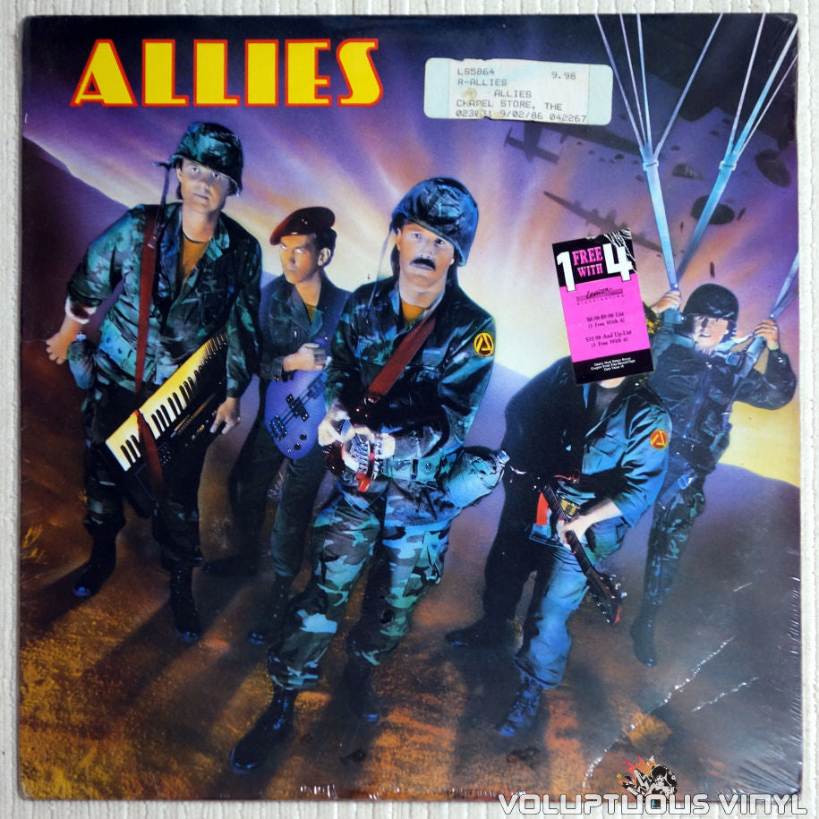 Allies ‎– Allies - Vinyl Record - Front Cover