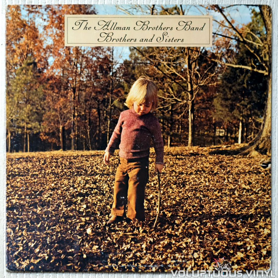 The Allman Brothers Band ‎– Brothers And Sisters - Vinyl Record - Front Cover