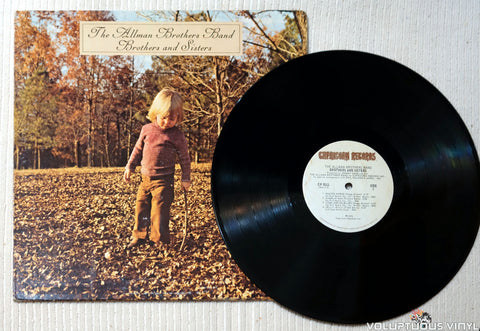 The Allman Brothers Band ‎– Brothers And Sisters - Vinyl Record
