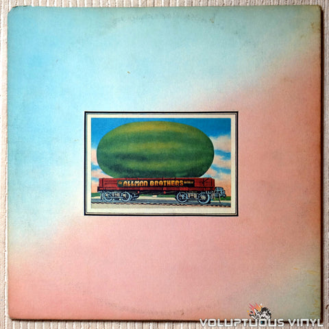 The Allman Brothers Band ‎– Eat A Peach - Vinyl Record - Back Cover
