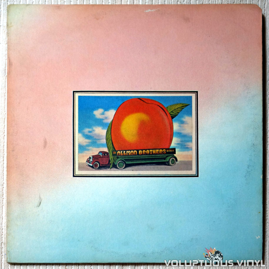 The Allman Brothers Band ‎– Eat A Peach - Vinyl Record - Front Cover