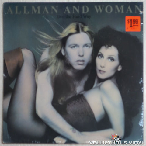 Allman And Woman ‎– Two The Hard Way (1977) SEALED