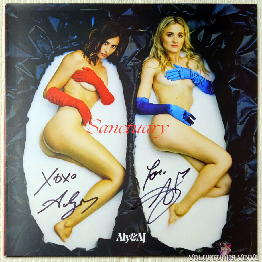 Aly & AJ ‎– Sanctuary vinyl record front cover