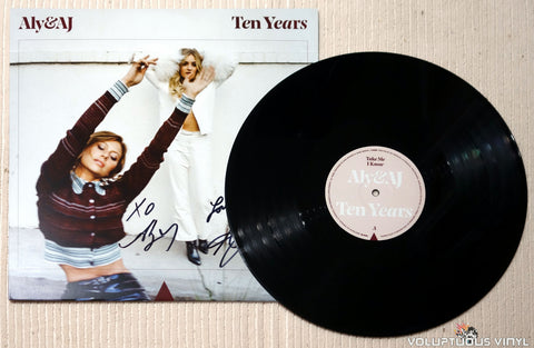 Aly & AJ Ten Years vinyl record