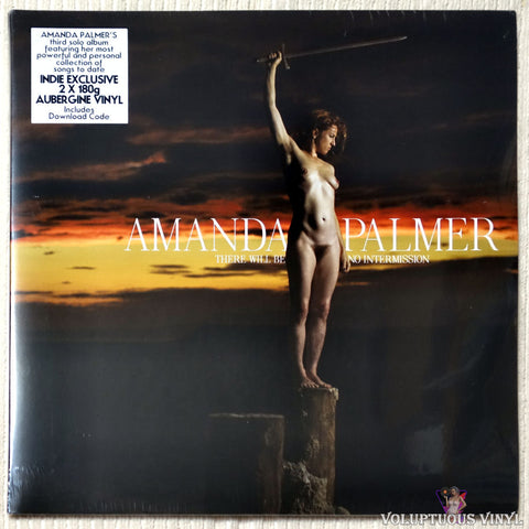 Amanda Palmer ‎– There Will Be No Intermission vinyl record front cover