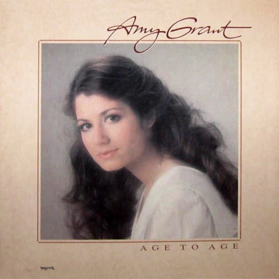 Amy Grant ‎– Age To Age vinyl record front cover