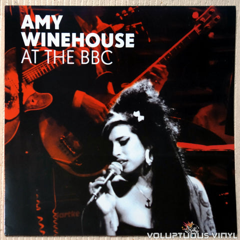 Amy Winehouse ‎– At The BBC vinyl record front cover