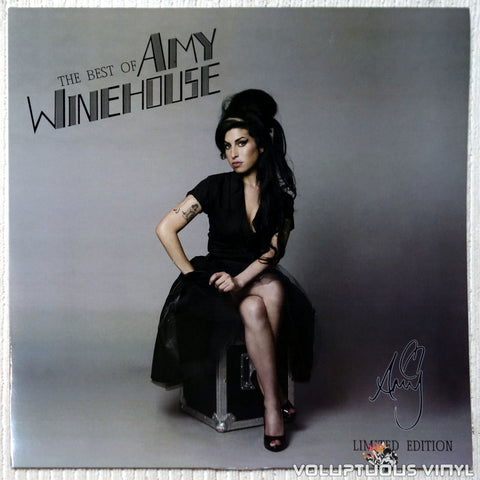 Amy Winehouse ‎– The Best Of Amy Winehouse (2011) Pink Vinyl, Unofficial