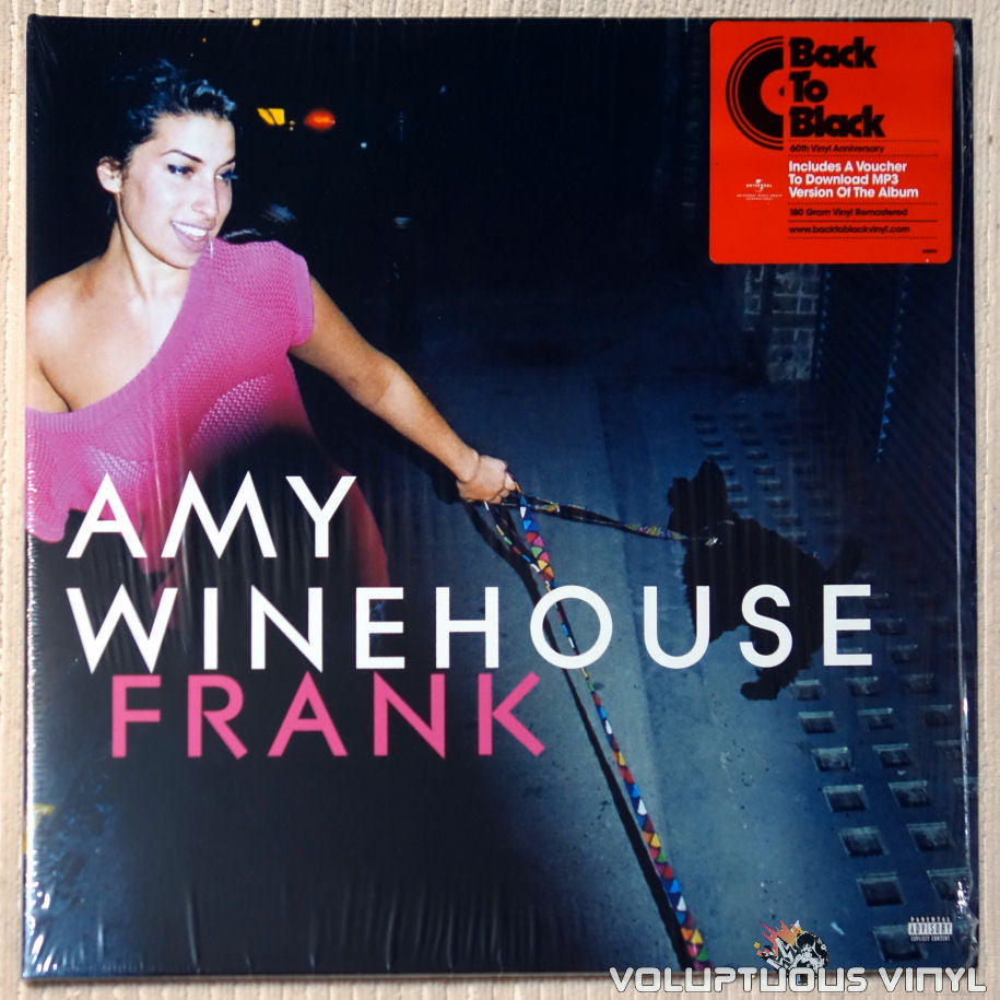 Amy Winehouse ‎– Frank vinyl record front cover