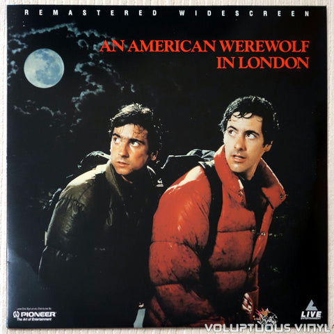 American Werewolf in London - LaserDisc - Front Cover