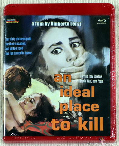 An Ideal Place To Kill blu-ray front cover