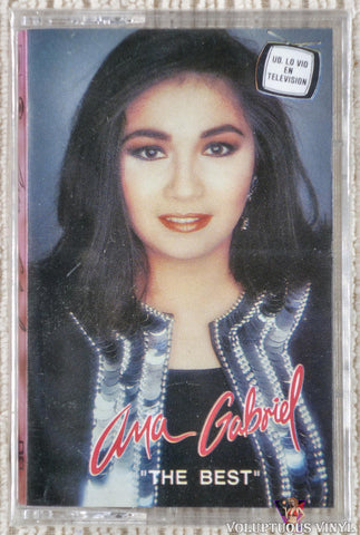 Ana Gabriel ‎– The Best (1992) SEALED