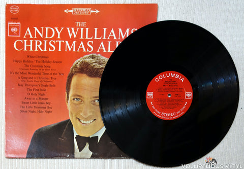 Andy Williams ‎– The Andy Williams Christmas Album vinyl record