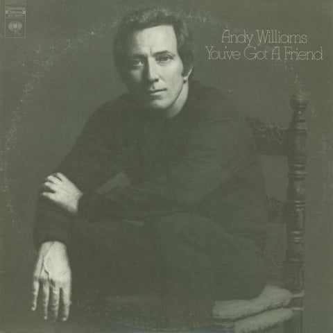 Andy Williams ‎– You've Got A Friend vinyl record front cover