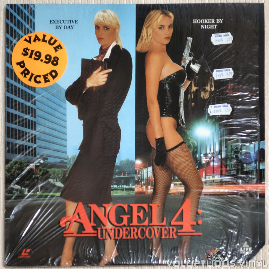 Angel 4: Undercover - LaserDisc - Front Cover
