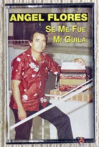 Angel Flores ‎– Se Me Fue Mi Guila (1994) SEALED