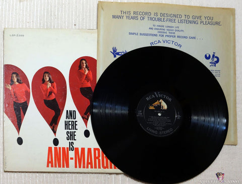 Ann-Margret ‎– And Here She Is vinyl record