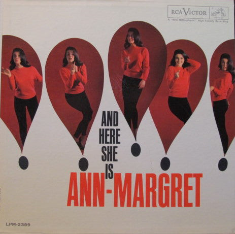 Ann-Margret ‎– And Here She Is (1961) Vinyl Record