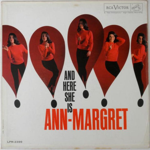 Ann-Margret ‎– And Here She Is - Vinyl Record