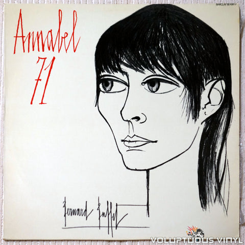 Annabel Buffet ‎– Annabel 71 vinyl record front cover