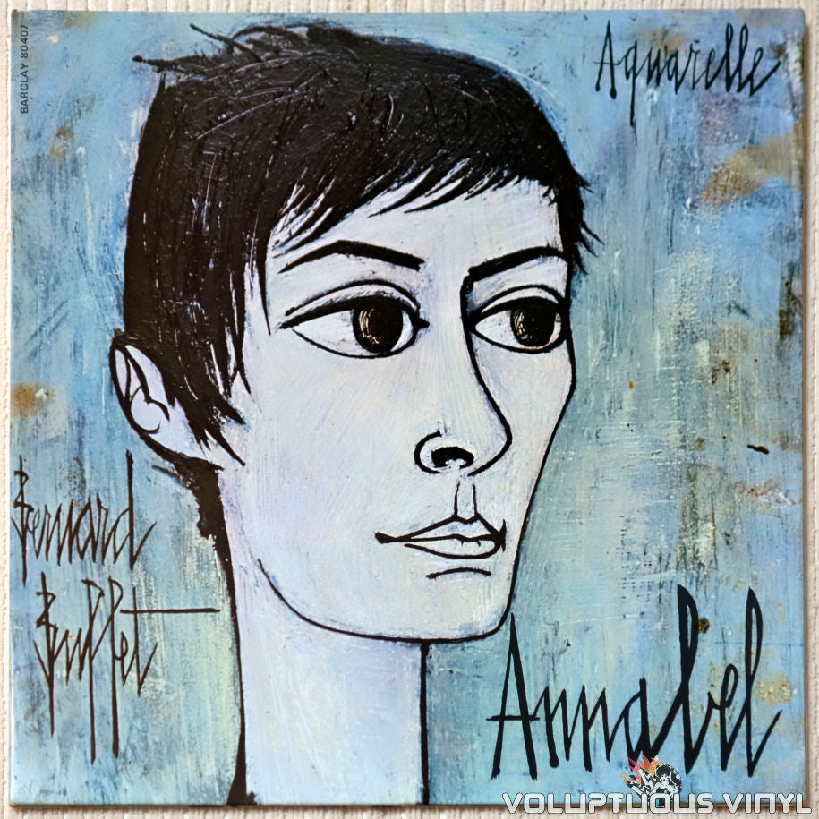 Annabel Buffet ‎– Aquarelle vinyl record front cover