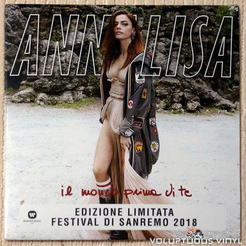 "Annalisa ‎– Il Mondo Prima Di Te (2018) 7"" Single, Limited Edition, Yellow Vinyl, Italian Press SEALED"