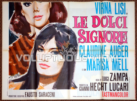 Anyone Can Play (1968) - Italian 4F - Virna Lisi, Ursula Andress, Claudine Auger & Marisa Mell - Poster Bottom  Half