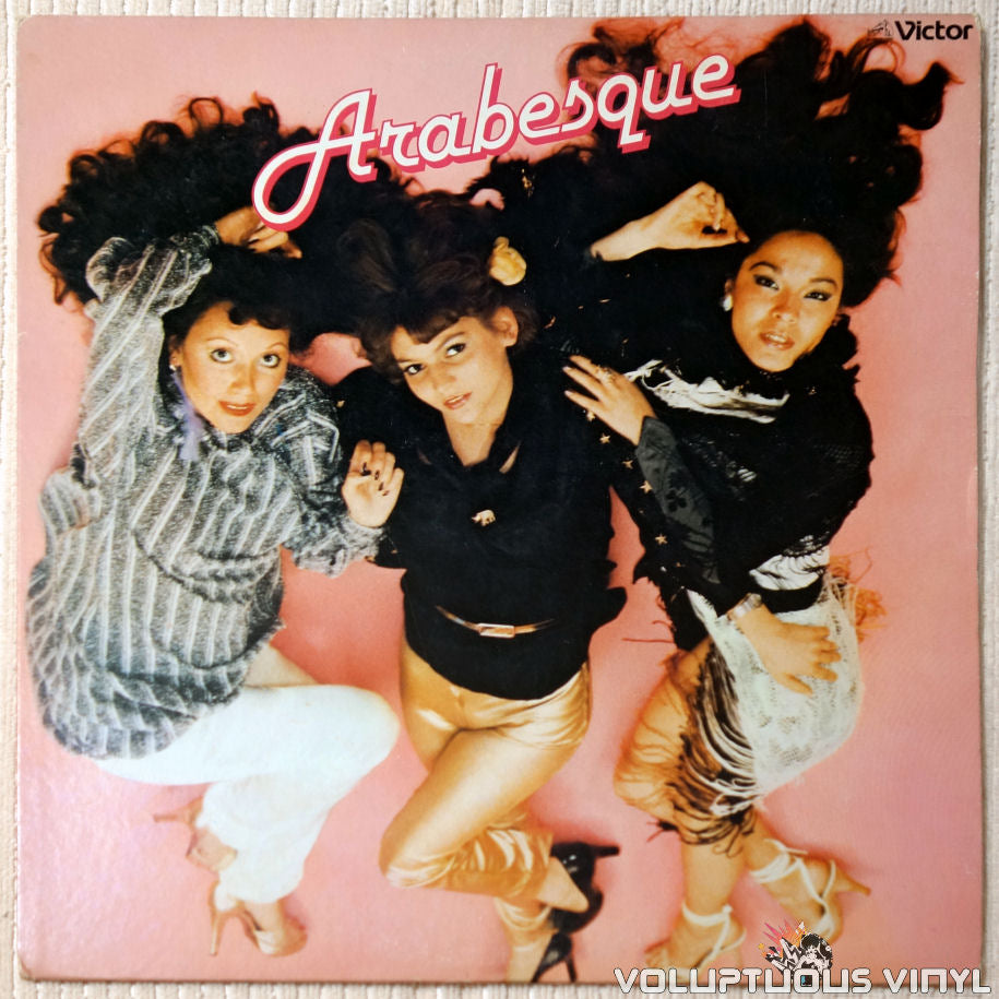 Arabesque ‎– Arabesque vinyl record front cover