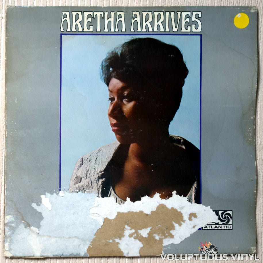 Aretha Franklin ‎– Aretha Arrives - Vinyl Record - Front Cover