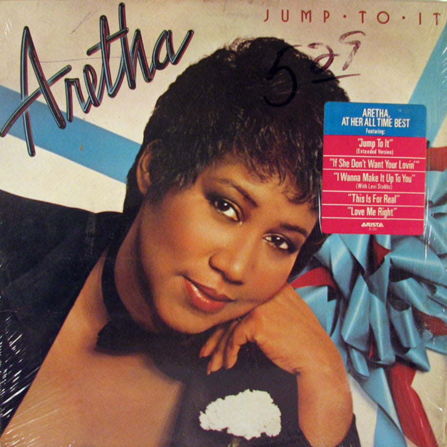 Aretha Franklin ‎– Jump To It - Vinyl Record - Front Cover