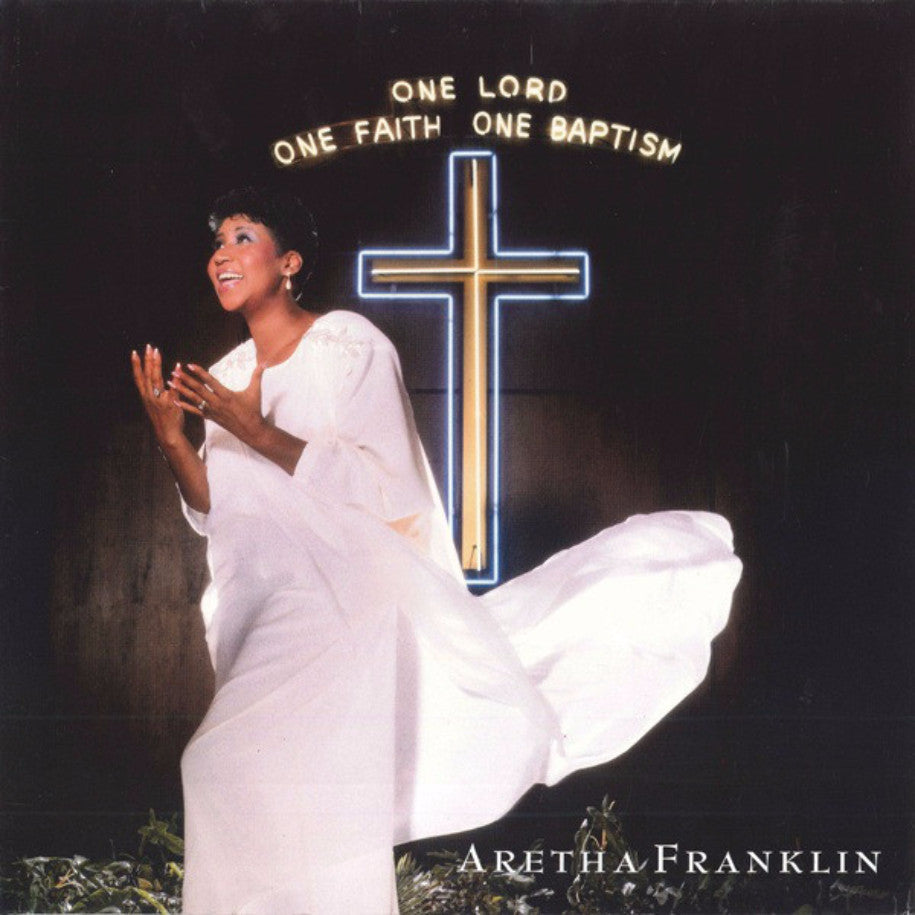 Aretha Franklin ‎– One Lord, One Faith, One Baptism - Vinyl Record - Front Cover