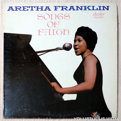 Aretha Franklin ‎– Songs Of Faith - Vinyl Record - Front Cover