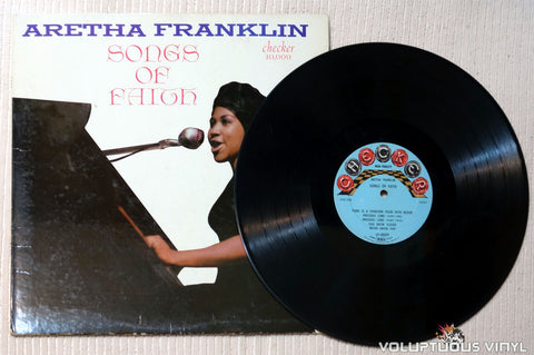 Aretha Franklin ‎– Songs Of Faith - Vinyl Record