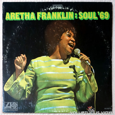 Aretha Franklin ‎– Soul '69 - Vinyl Record - Front Cover