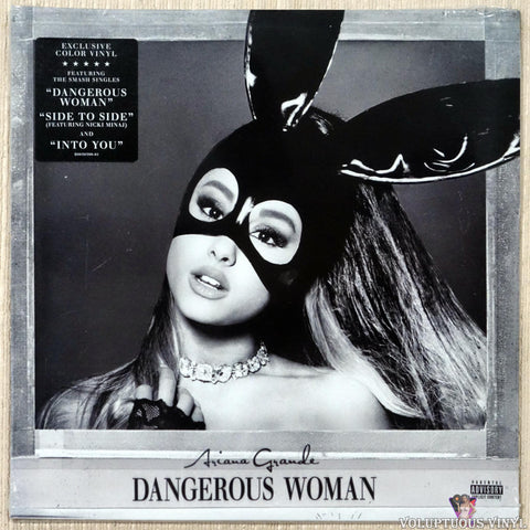 Ariana Grande ‎– Dangerous Woman (2019) 2xLP, Purple & Black Swirl Vinyl, SEALED