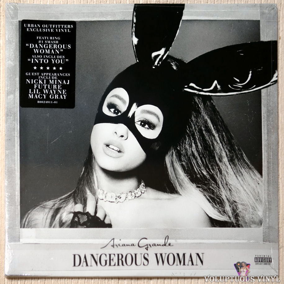 Ariana Grande ‎– Dangerous Woman vinyl record front cover