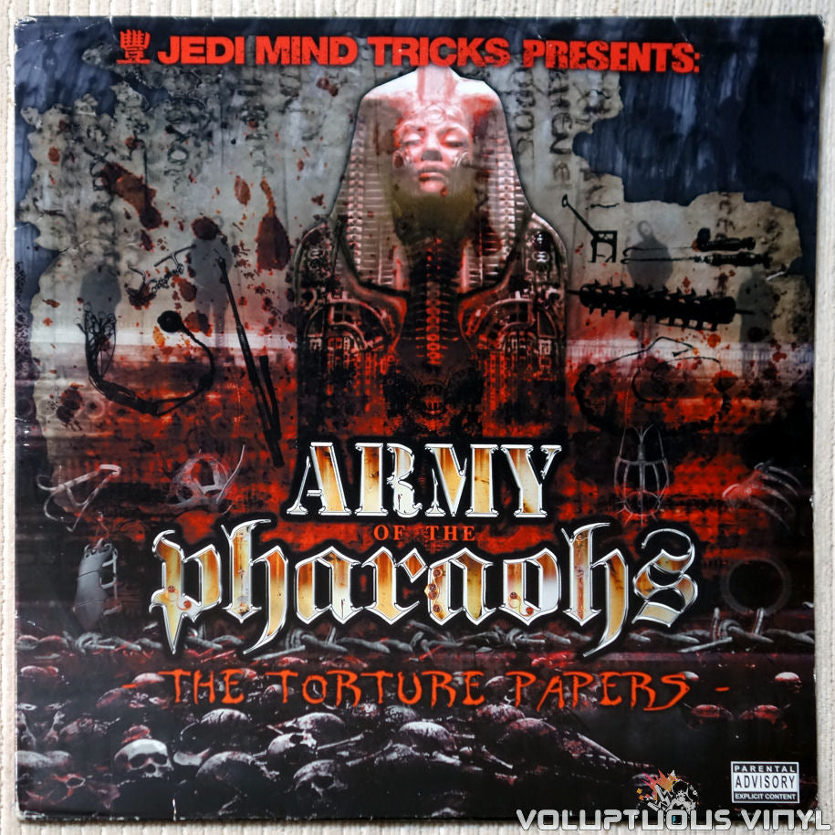 Army Of The Pharaohs ‎– The Torture Papers vinyl record front cover