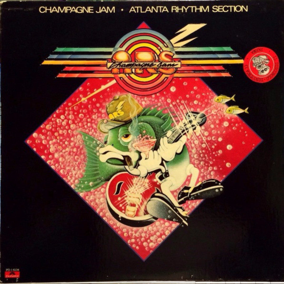 Atlanta Rhythm Section ‎– Champagne Jam - Vinyl Record - Front Cover