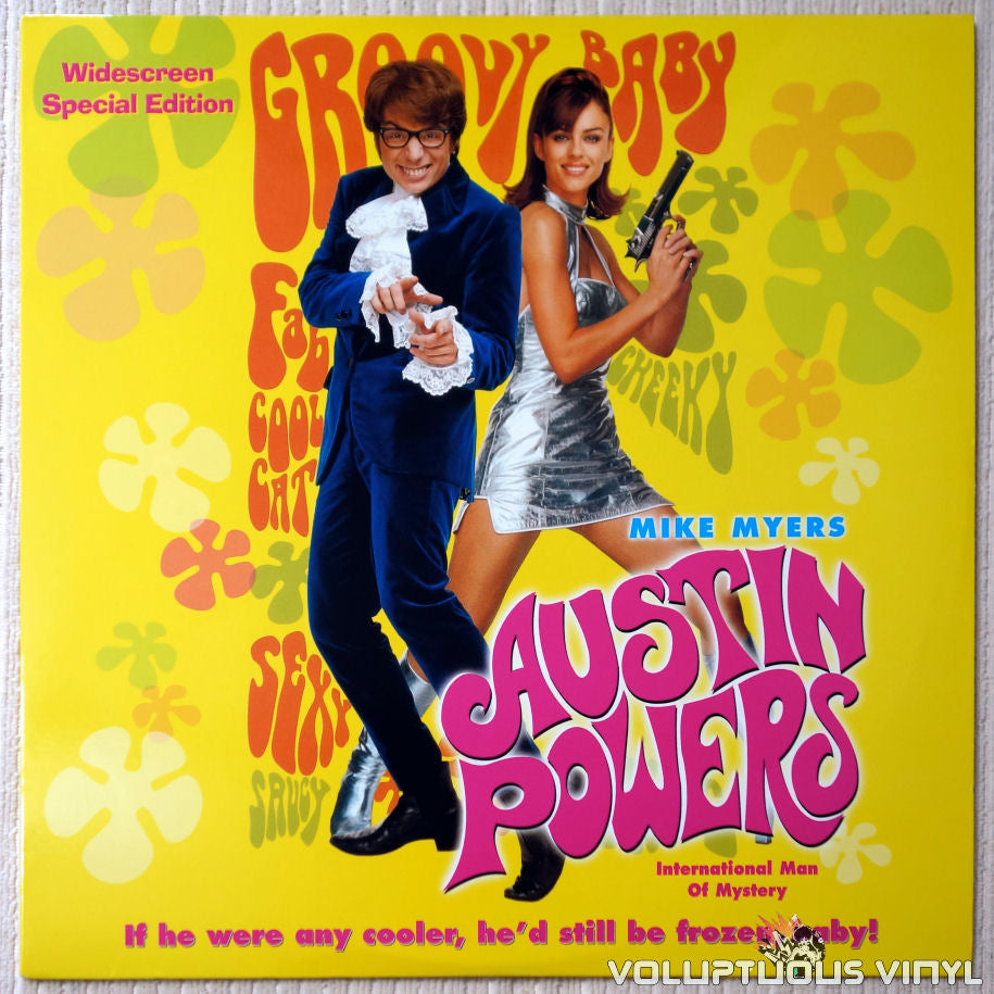 Austin Powers: International Man of Mystery - LaserDisc - Front Cover