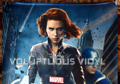 The Avengers (2012) - US Bus Shelter Poster - Scarlett Johanson - Black Widow - Top