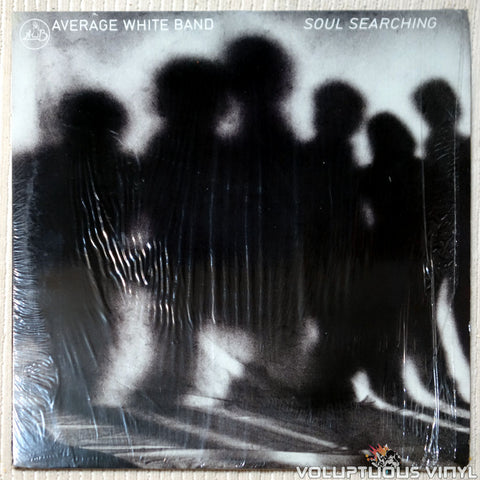 Average White Band ‎– Soul Searching vinyl record front cover