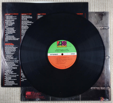 Average White Band ‎– Warmer Communications (1978)