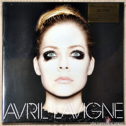 Avril Lavigne ‎– Avril Lavigne (2018) Limited Edition, Numbered, Silver/Black Vinyl, UK Press SEALED