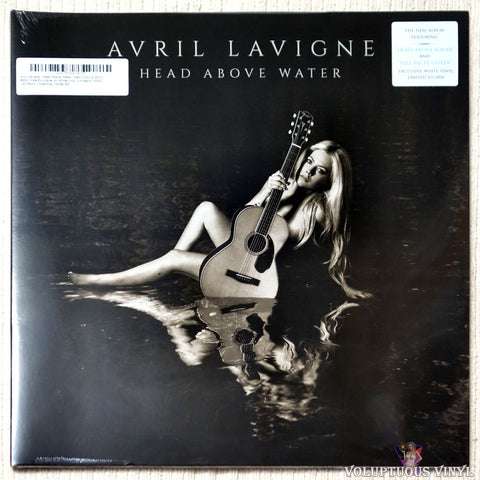 Avril Lavigne ‎– Head Above Water (2019) Limited Edition, White Vinyl SEALED