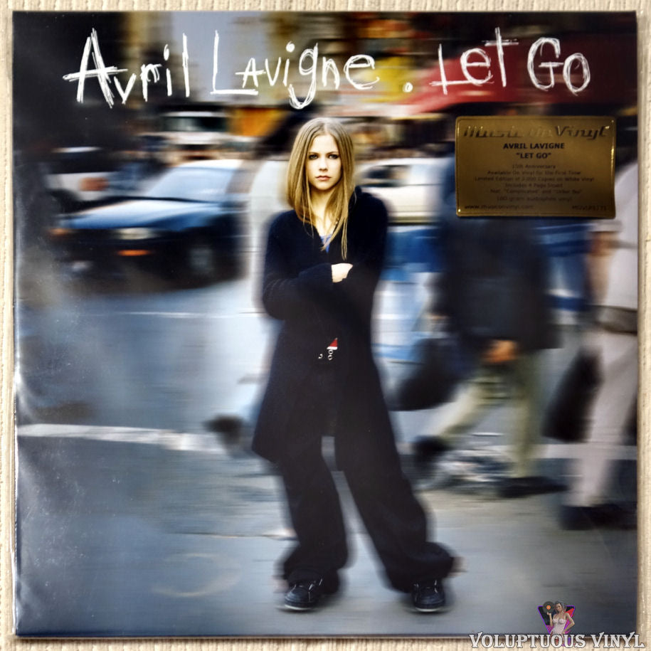 Avril Lavigne ‎– Let Go vinyl record front cover