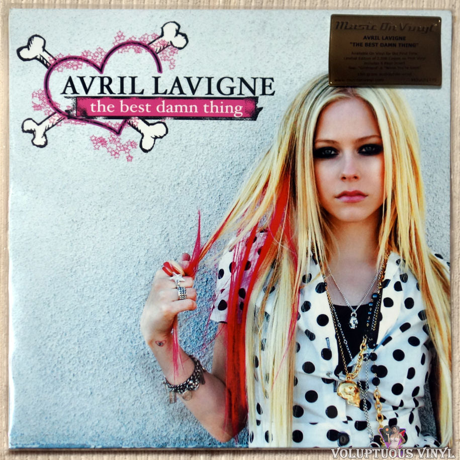 Avril Lavigne ‎– The Best Damn Thing vinyl record front cover