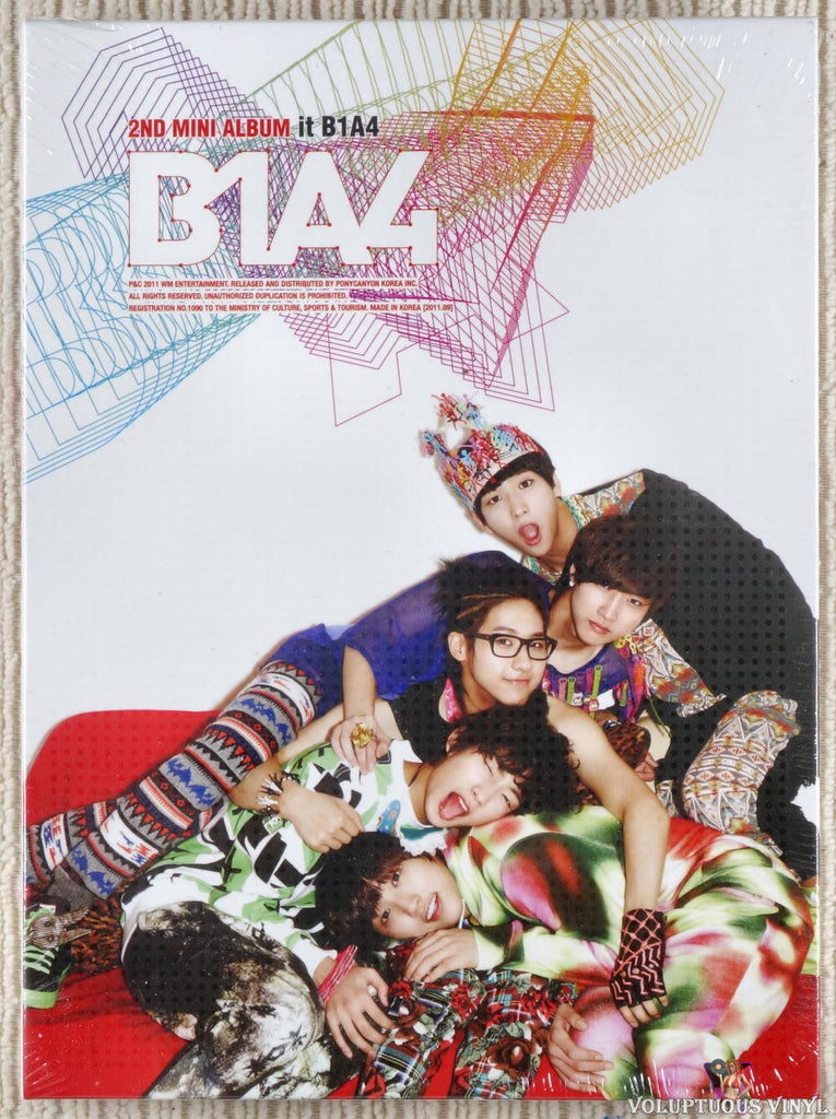 B1A4 ‎– It B1A4 CD front cover
