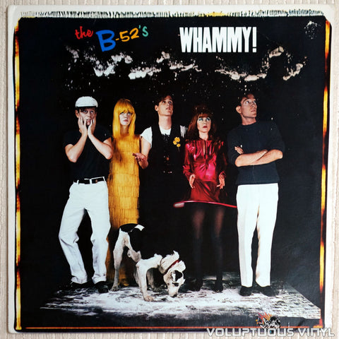 The B-52's ‎– Whammy! - Vinyl Record - Front Cover