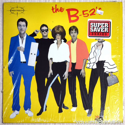 The B-52's ‎– The B-52's - Vinyl Record - Front Cover