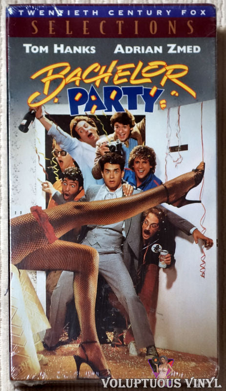 Bachelor Party VHS front cover